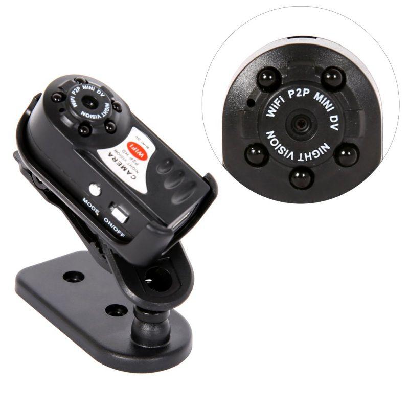 New Mini Q7 Camera 480P Wifi DV DVR Wireless IP Cam Brand New Mini Video Camcorder Recorder Infrared Night Vision Small Camera