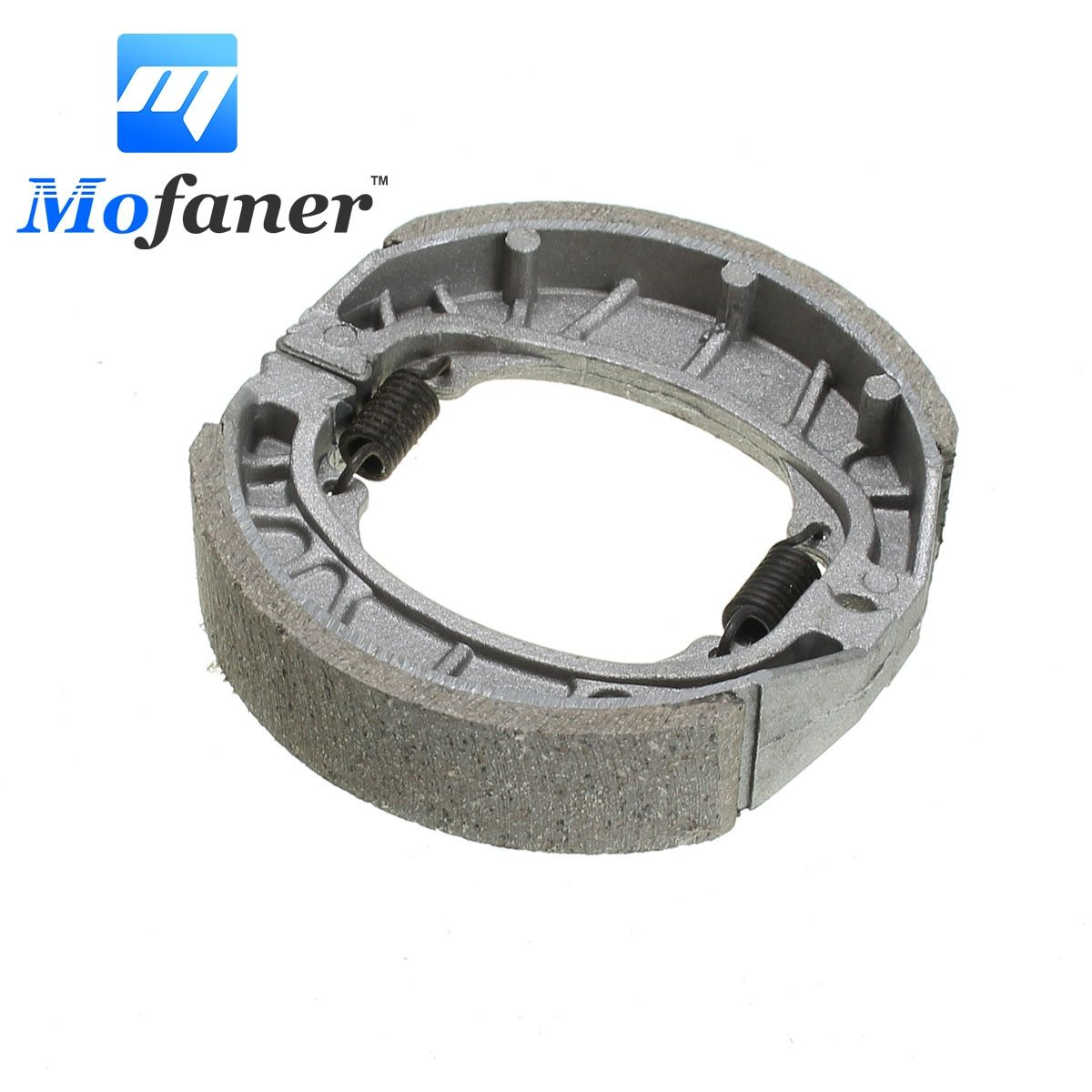 105mm Motorcycle Brake Pads Shoe Rear For GY6 50cc 110cc 125cc 150cc Scooter BRAK-0003 Sliver