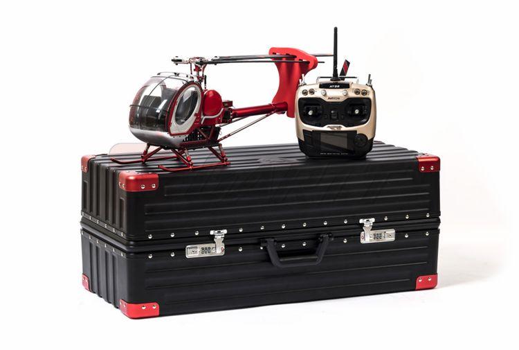 Schweizer 300C Hughes Metall und Hohe Simulation RC RTF hubschrauber für ausbildung und landwirtschaft