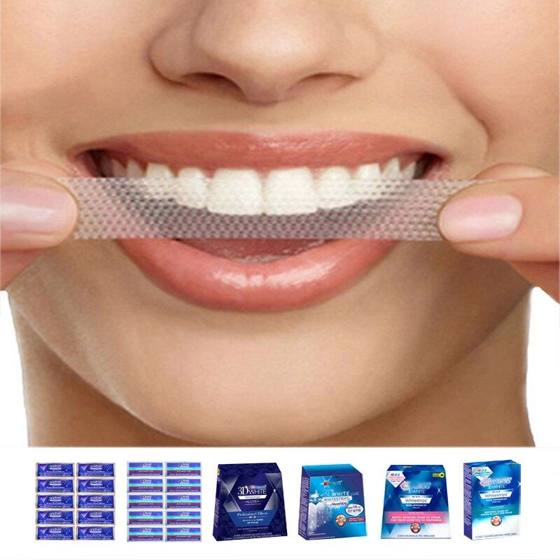 3D White Whitestrips Luxe Professional Effects Oral Hygiene Original Teeth Whitening Strips Dental Whiten 1 Hour Advanced Vivid