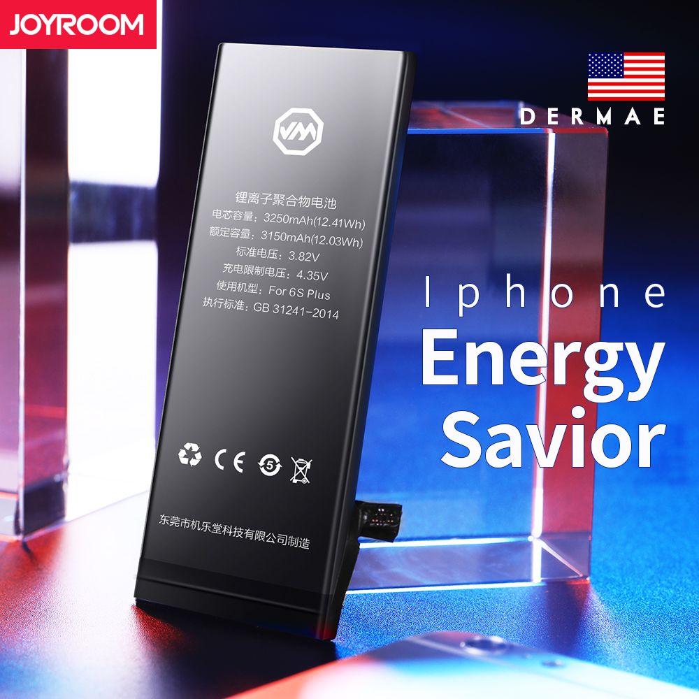 Joyroom 3.8V 1810 mah Li-ion Internal Battery Replacement for iPhone 6 With Repair Tools