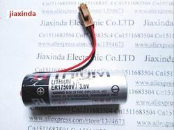 Jiaxinda HOT NEW ER17500V/3.6 V ER17500 ER17500V baterai lithium PLC kontrol dalam 3.6 V Li-ion baterai plug