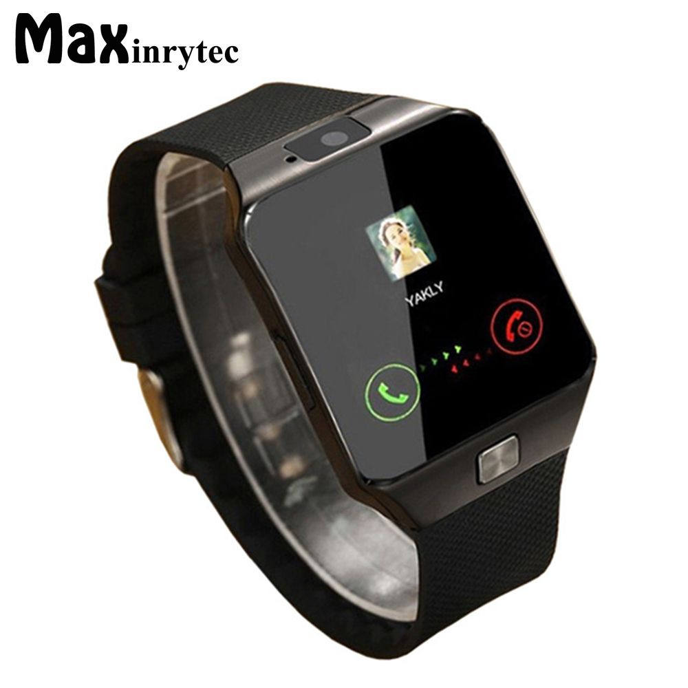 Montre intelligente Bluetooth DZ09 montre-bracelet portable Relogio 2G SIM TF carte pour Iphone Samsung Android smartphone Smartwatch