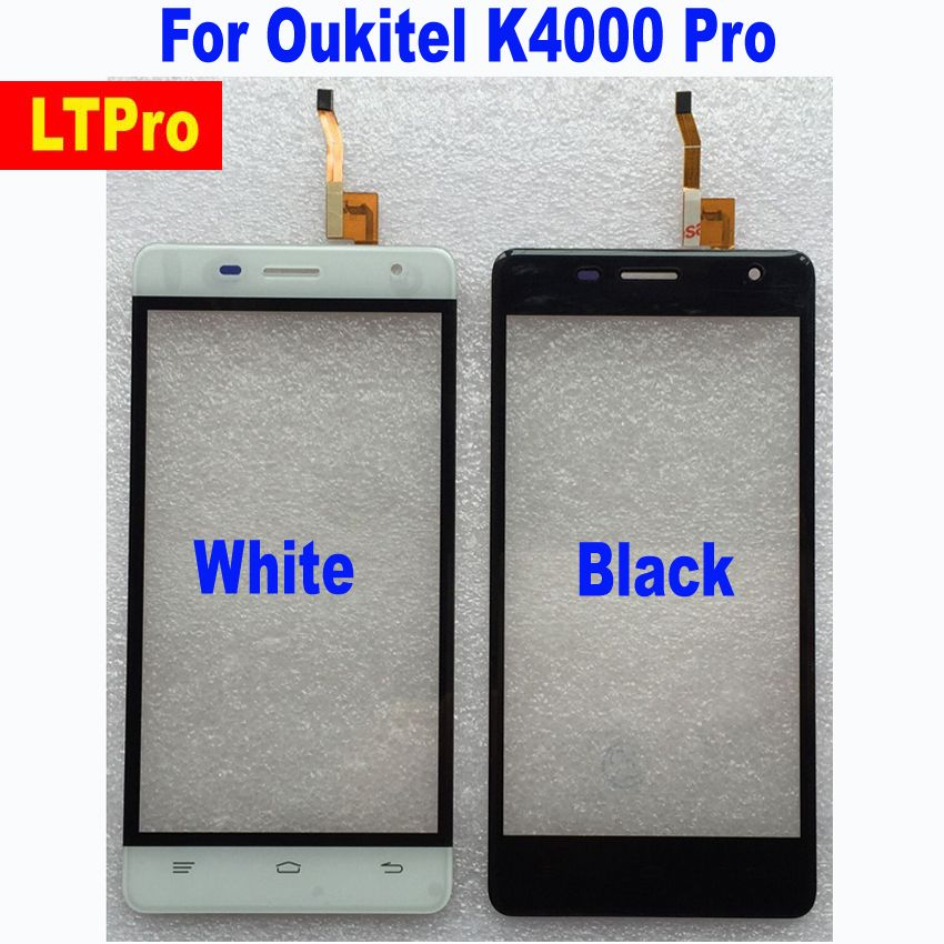 LTPro High Quality Tested Working TP Glass Panel Touch Screen Digitizer For Oukitel K4000 Pro Sensor Phone Parts Replacement