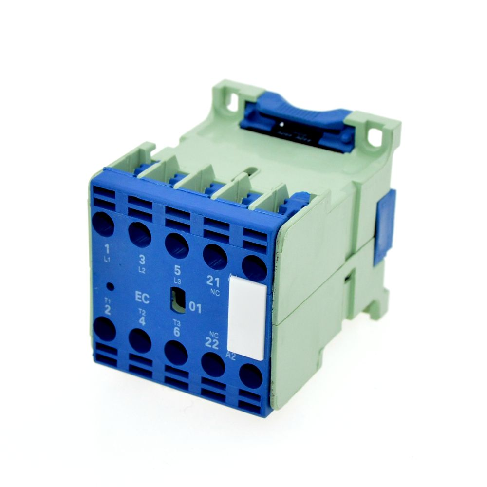 AC-3 Rated Operational Current 9A 3Poles+1NC 380VAC 50Hz / 60Hz Coil Voltage AC Contactor Motor Starter Relay DIN Rail Mount