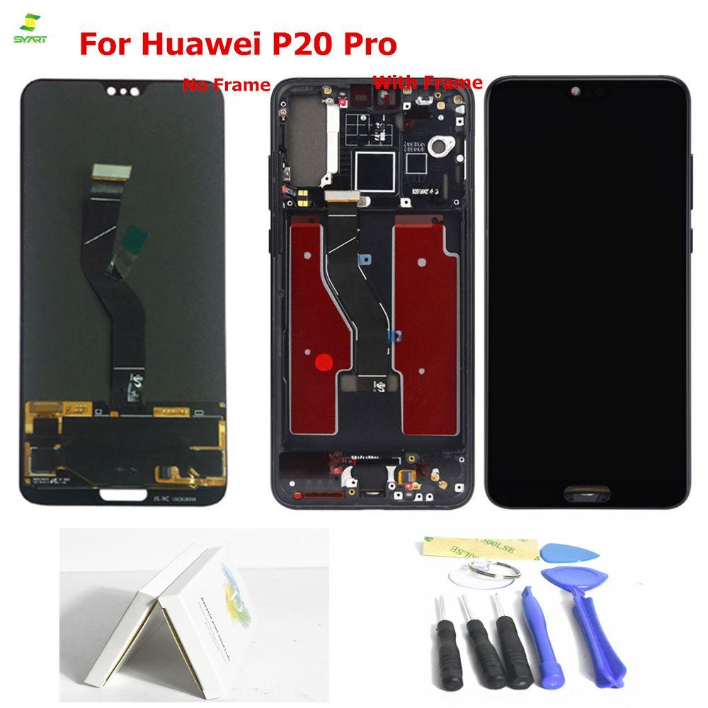 Display Für Huawei P20 Pro LCD Display Touchscreen Digitizer Montage Für Huawei P20 Pro Plus LCD CLT L09 L29 AL01 Ersatz