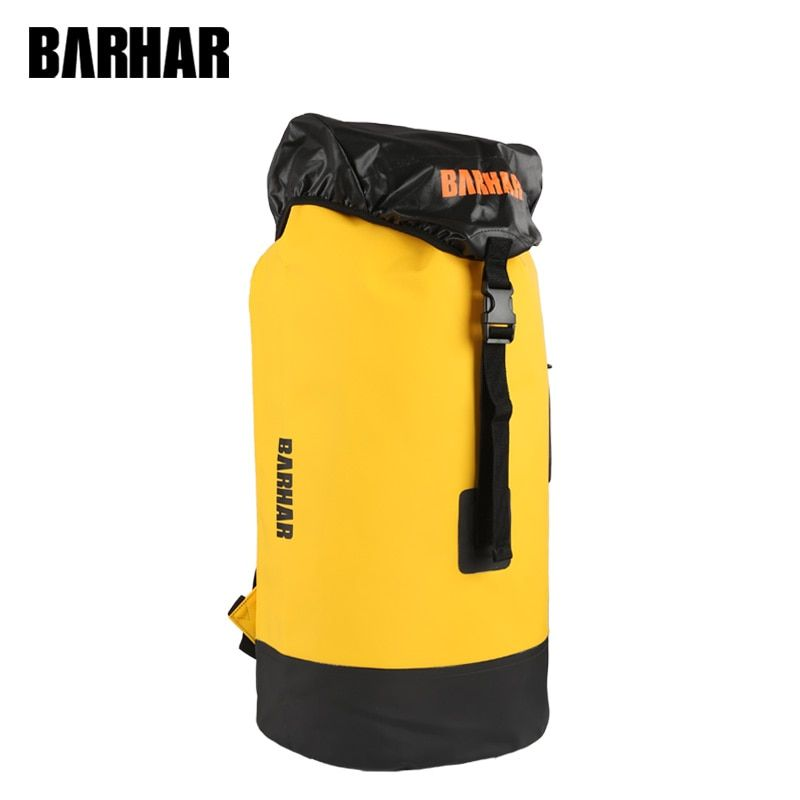 Caving Waterproof Dry Bags for Canyoning Swimming Kayaking Rock Climbing Bag Rescue Expedition PVC Resistance Backpack BARHAR45L