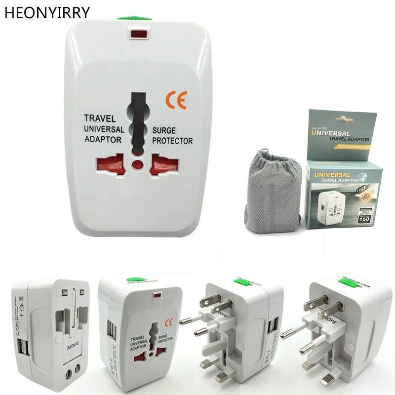 Elektrische Stecker Steckdose Adapter International Travel Adapter Universal Reise Buchse USB Power Ladegerät Eu UK US AU