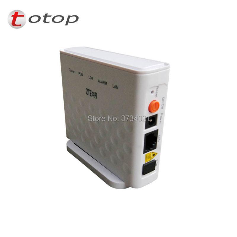 20 teile/los F601 ZTE ZXA10 GPON Terminal ONT FTTH GPON ONU mit 1GE Ethernet-anschluss gleiche funktion wie F401 F643 F660