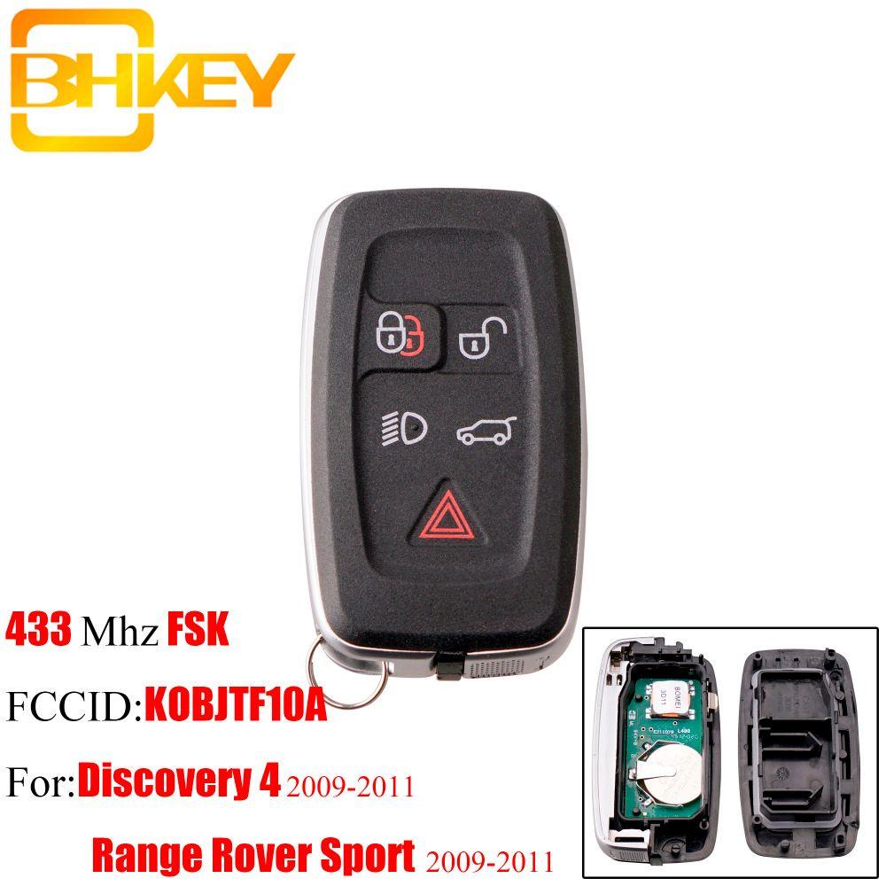 BHKEY 5 Taste Smart-Remote-key Für Land Rover KOBJTF10A 433 mhz Für Land Rover Range Rover Sport Entdeckung 4 2009-2011 FOB schlüssel
