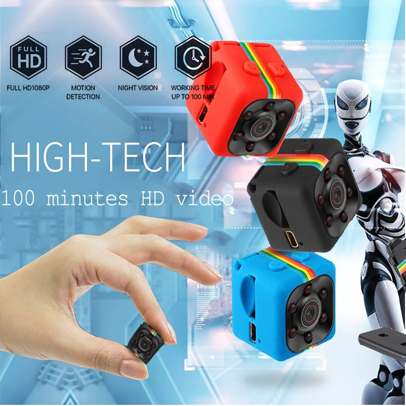 HD 1080 p Mini Caméra SQ11 Nuit Vision DVR Infrarouge Mini Caméra Caméscope De Voiture Soutien TF Carte DV caméra Vidéo enregistreur Caméras