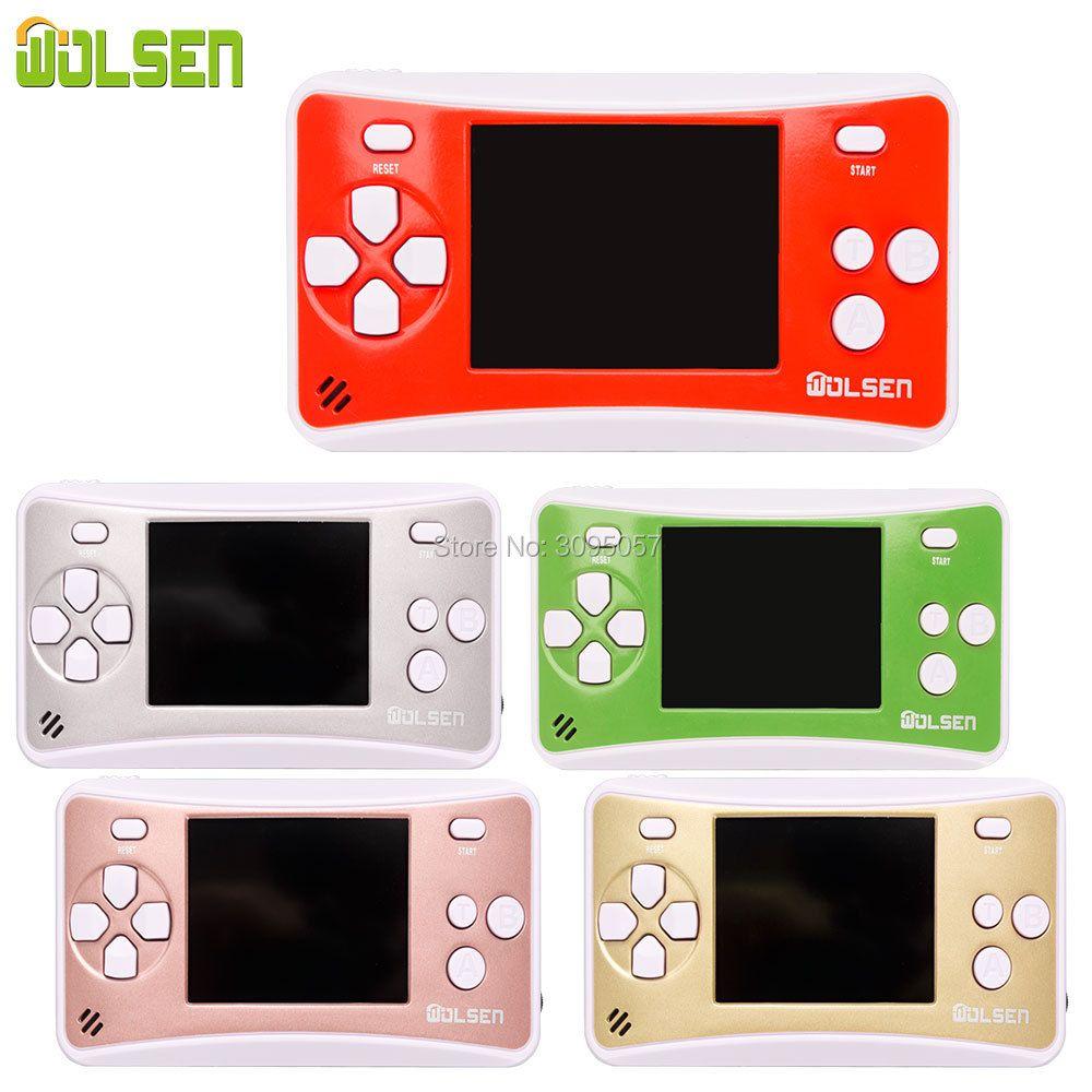 Portable vidéo jeu de poche rétro classique joueur de jeu pour enfant Arcade Console de jeu haut-parleur intégré 152 jeux meilleur cadeau pour enfant