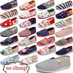 Wanita Fashion Sepatu Datar Malas 'S Espadrilles Kanvas Wanita Sepatu Gadis Sepatu Espadrilles Wanita Sepatu Flat Ukuran 35 -44