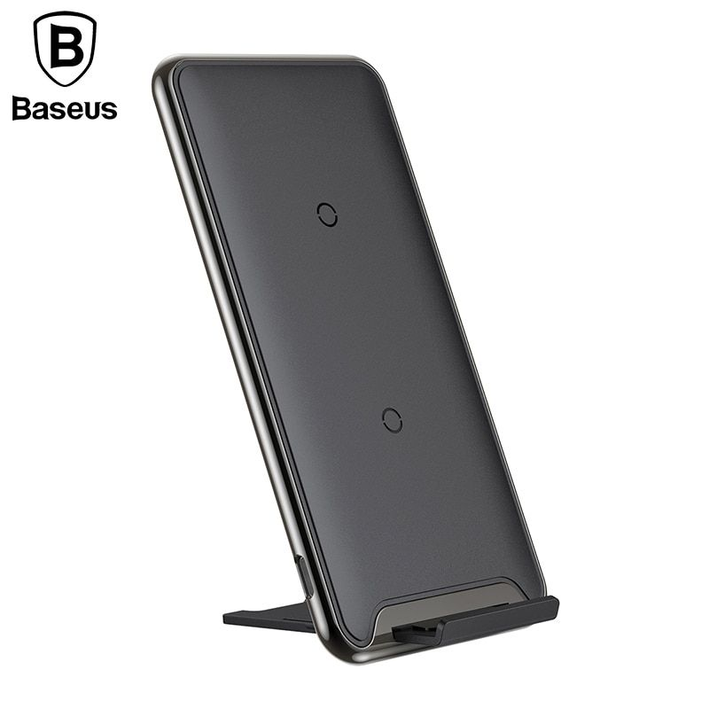 Baseus Qi Wireless Charger For iPhone X 8 Samsung S9 S8 Note 8 <font><b>Xiaomi</b></font> Wireless Charger for Phone Wireless Charging Pad Station