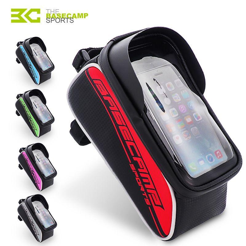 BASECAMP Vélo Sac Vélo Smartphone Sac Cycing Tube Sac Écran Tactile Vélo Sac Pour iPhone Pour Xiaomi VTT Accessoires Vélo