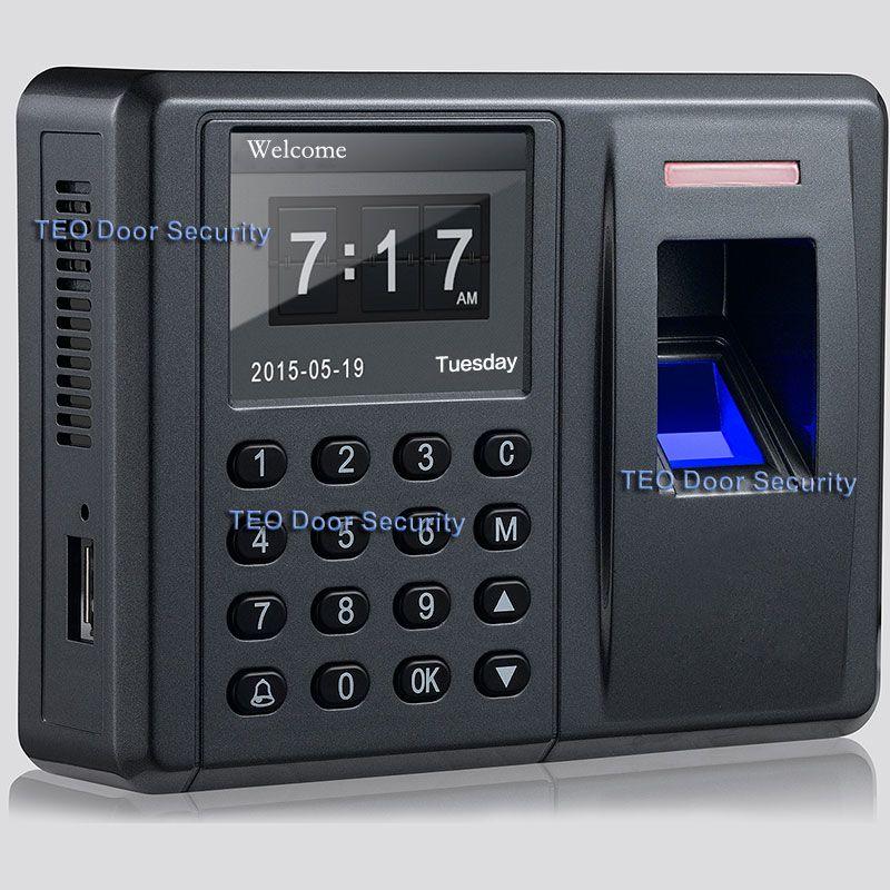 Biométrique FP Fréquentation à Temps et Contrôle Acess Lecteur D'empreintes Digitales Accès Controlador de acceso de la puerta de la huella numérique