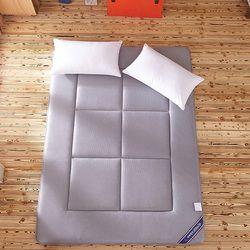 Tidur Karpet Tatami Kasur Pad Dilipat Lantai Karpet 4 CM Ketebalan Malas Tidur Tikar Ganda Bantal untuk Kamar Tidur dan Kantor
