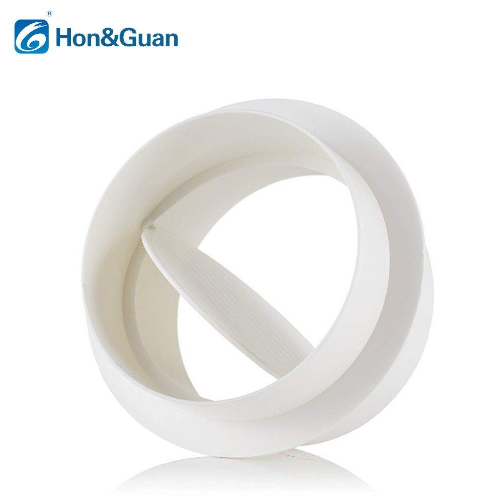 Hon & Guan 4 ''~ 8'' dresseur de brouillon, amortisseur de brouillon en ligne extracteur ventilateur Vent volet de tirage arrière (100mm ~ 200mm)
