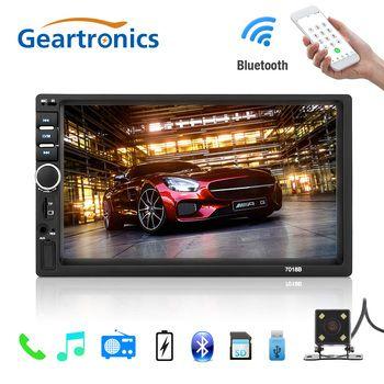 2 din автомагнитолы Авто Радио 2 DIN общие моделей автомобилей 7 ''дюймовый ЖК-дисплей Сенсорный экран автомобиля Радио плеер Bluetooth Аудиомагнито...