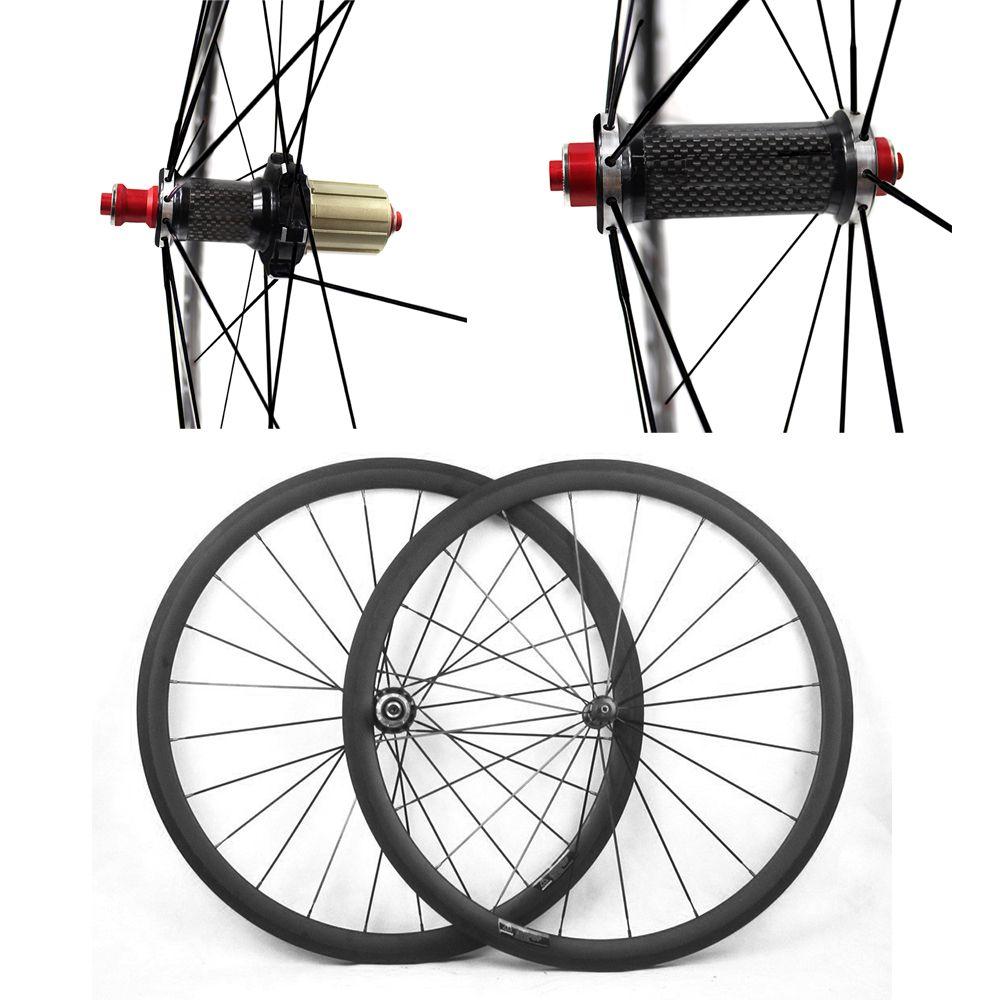 Carbon Fahrrad Laufradsatz UD Matte 700C 23/25mm Breite 38mm 50mm 60mm 88mm Carbon hub Rennrad Basalt Brems Oberfläche Carbon Räder