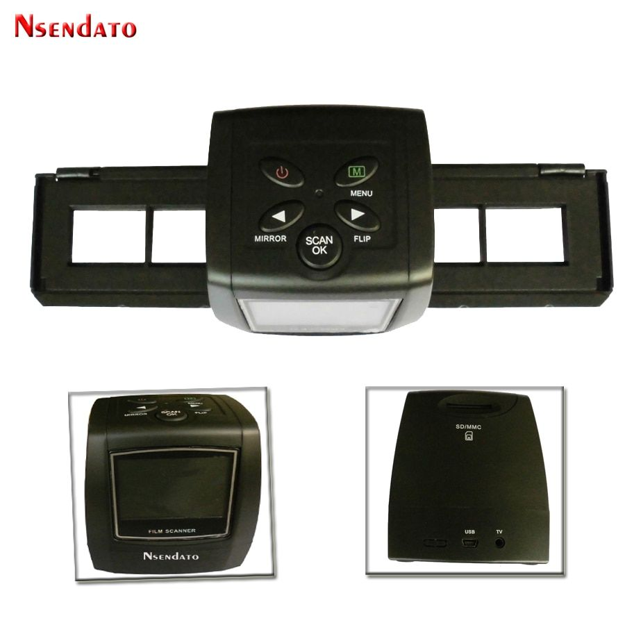 5MP USB MSDC 35mm Negative Film Slide Viewer Scanner 2.3