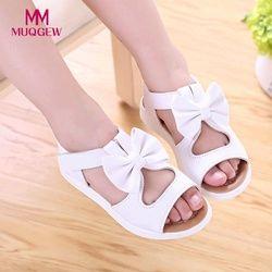 Enfants Enfants filles Sandales Chaussures D'été De Mode Bowknot Filles Plat Princesse Chaussures enfants de filles chaussures drop shipping