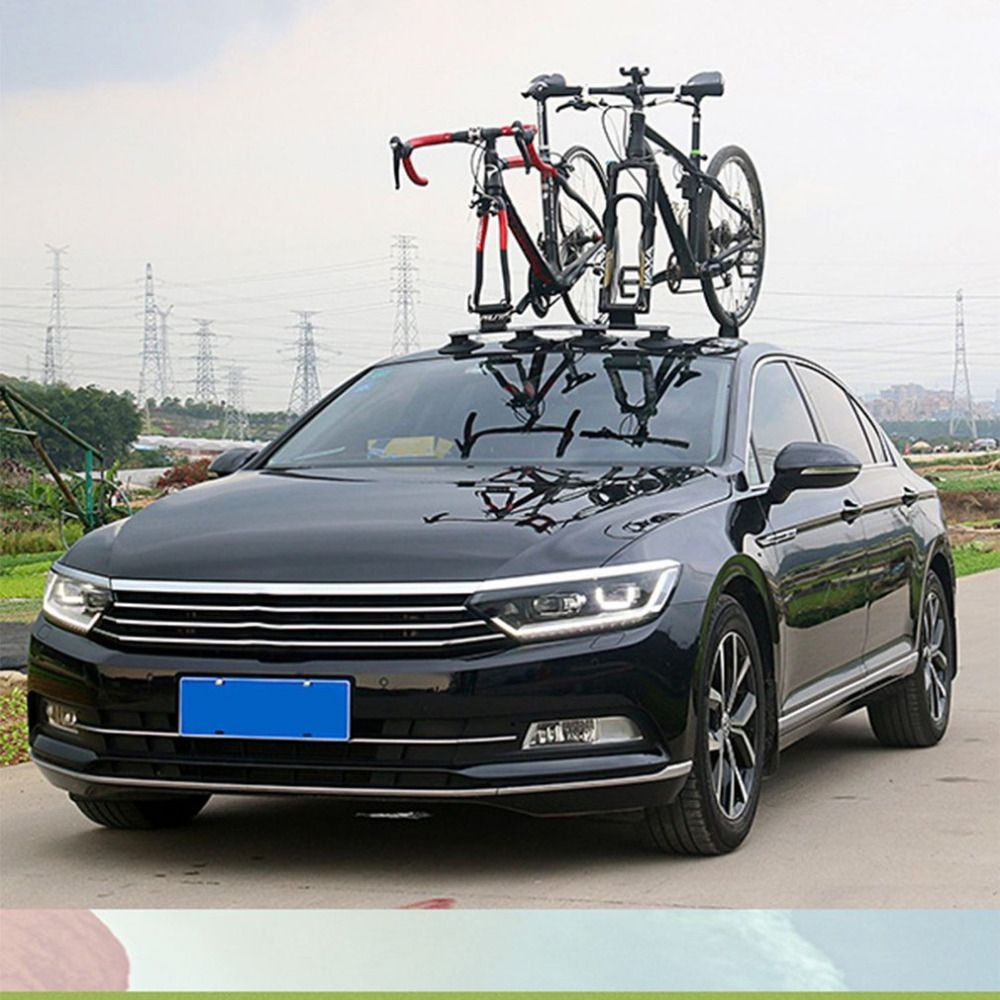 Bicycle Rack Roof-Top Suction Bike Car Rack Carrier Quick Installation Sucker Roof Rack For MTB Mountain Bike Road Bike Parts