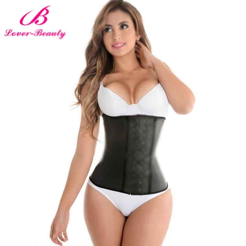 Lover Beauty Corset Plus Size gainel latex affinant la taille Latex Waist Steel Boned Waist Trainer Corsets and Bustiers