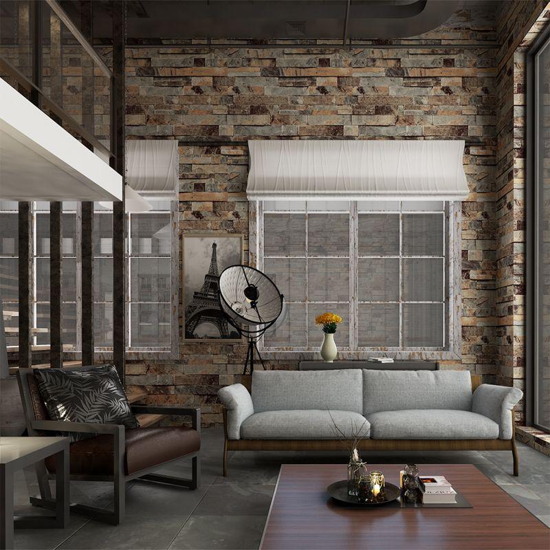 HANMERO обои кирпич Эффект 3D Обои Настенные Фрески brick wallpaper 3d обои для гостиной обои для стен в рулонах Бесплатная Доставка