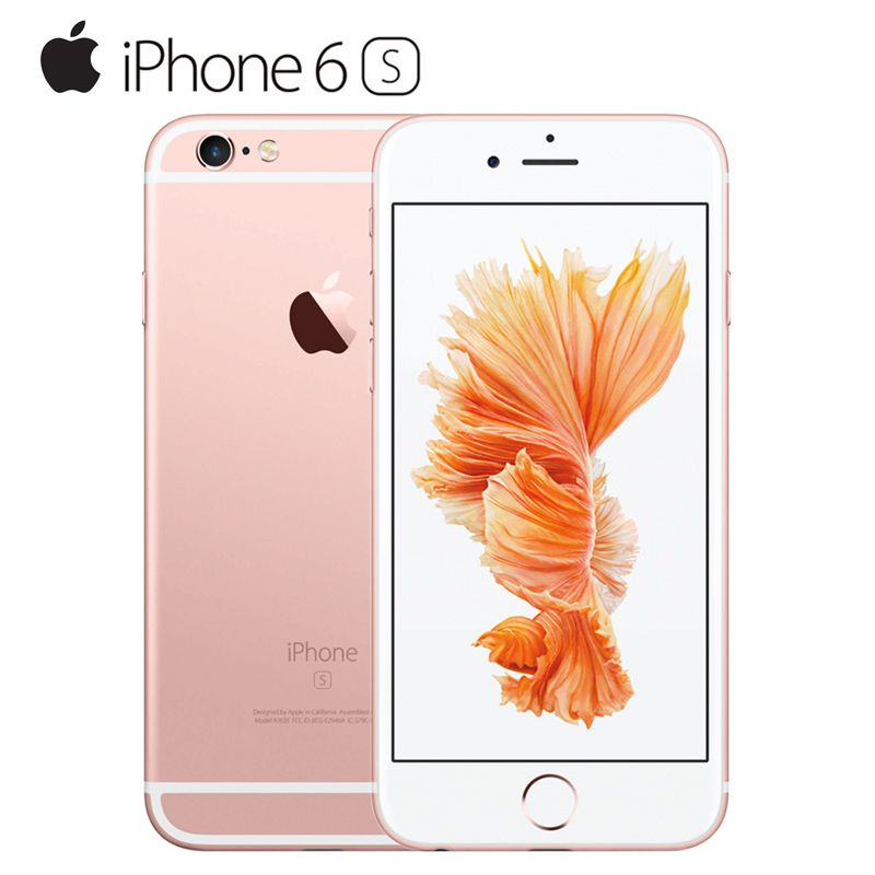 Original <font><b>Unlocked</b></font> Apple iPhone 6S Smartphone 4.7 IOS 9 Dual Core A9 IOS 9 16/64/128GB ROM 2GB RAM 12.0MP 4G LTE Mobile Phone