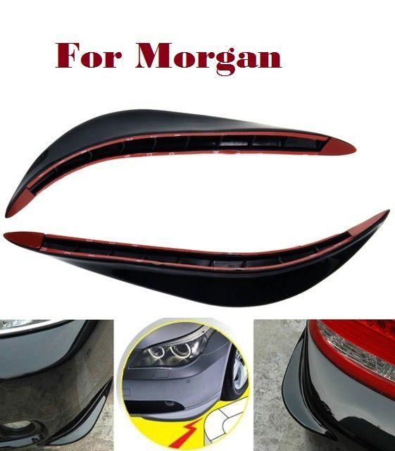 2PCS Car Bumper crash bar Strips Exterior Scratches Cover for Morgan 3 Wheeler 4 Seater 4/4 Aero 8 Aero Coupe car styling