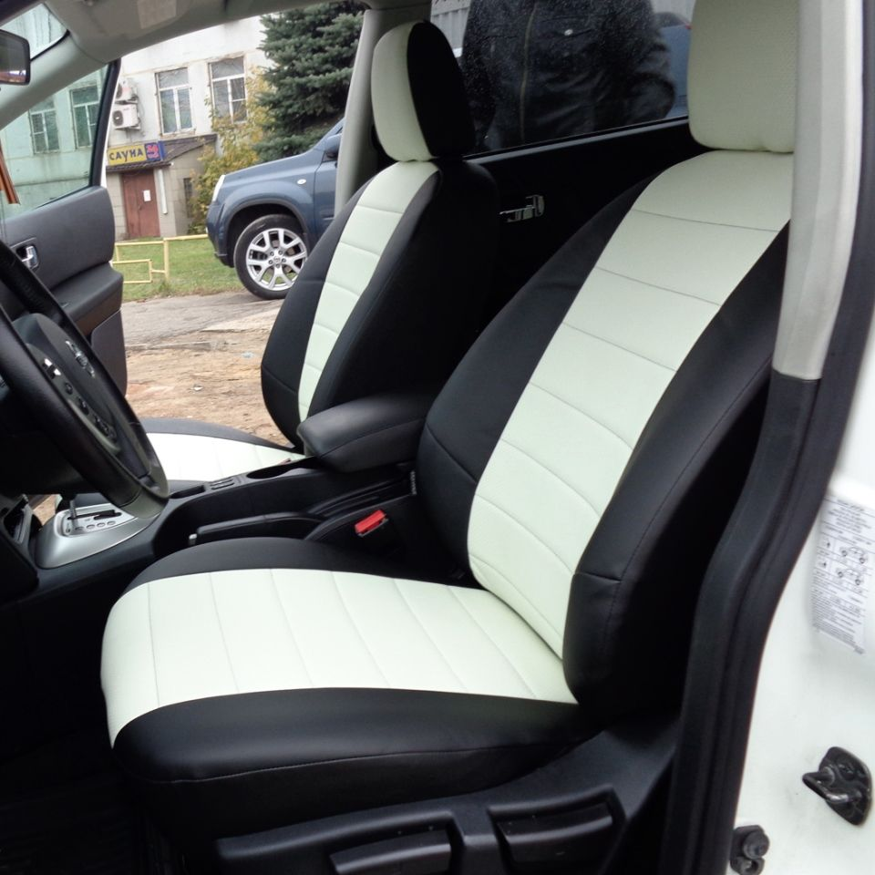 Für Nissan Qashqai J10 2006-2013 spezielle sitzbezüge vollen satz Autopilot Eco-leder