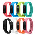 For Xiaomi Mi Band 2 Bracelet Strap Colorful Strap Wristband Replacement Smart Band Accessories For xiomi Mi MiBand 2 Silicone