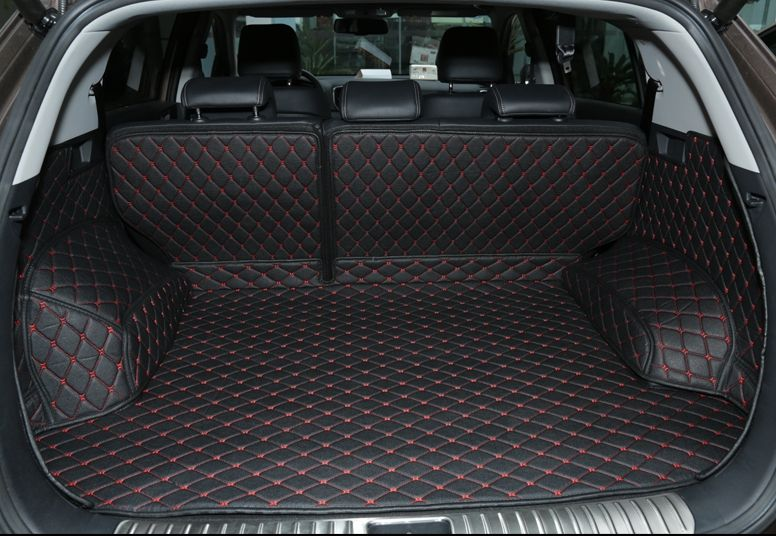 High quality! Special trunk mats for KIA Sportage 2018-2016 waterproof boot carpets cargo liner for Sportage 2017,Free shipping