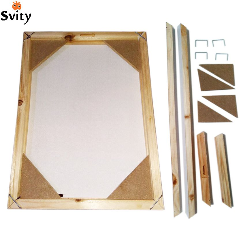 Wood frame for canvas oil painting nature wood DIY custom frame big size picture inner frame without the painting <font><b>just</b></font> the frame