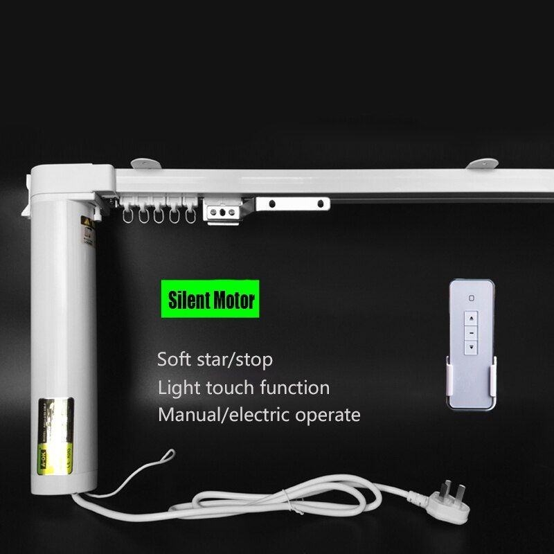 Тихий электрический занавес жалюзи, Бесплатная доставка, 1.0-3.0 м ширина, 90/135 градусов, управление Wi-Fi приемлемый
