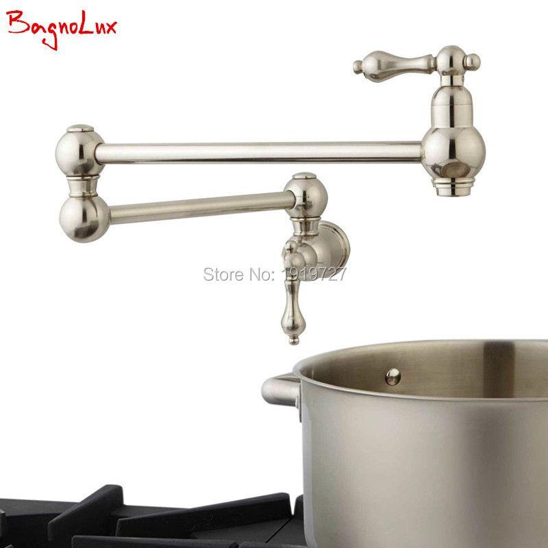 Bagnolux robinet de remplissage de Pot à Double vanne d'arrêt mural de haute qualité avec poignées à levier à Double battant 22