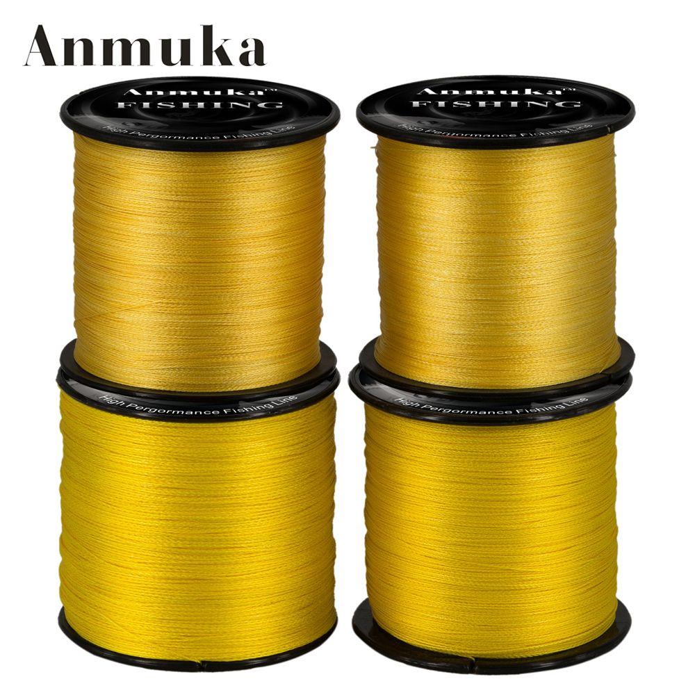 Anmuka Spectra 500 M Super Strong line Japón Multifilamento Trenzada PE Pesca línea 20 30 40 50 LIBRAS Tippet Línea Principal de Pesca Tackle