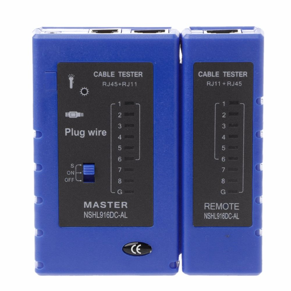 Testeur de Câble réseau RJ45 RJ11 RJ12 CAT5 CAT6 UTP USB Lan Fil de Test Ethernet # H029 #
