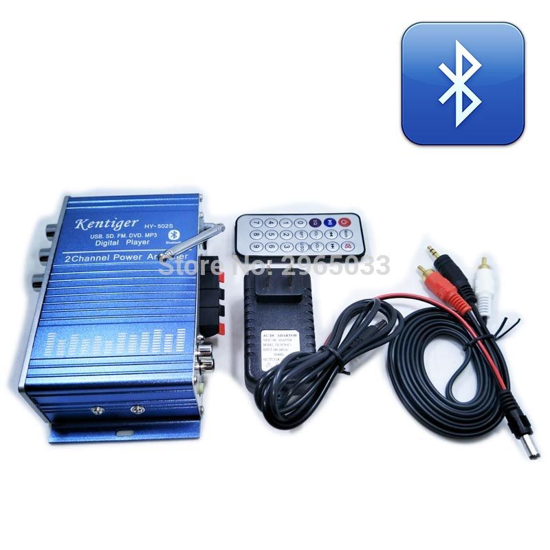 Car amplifier moto speaker motorcycle Amplified sound box power amplifier module for car amplifier audio car subwoofer radio