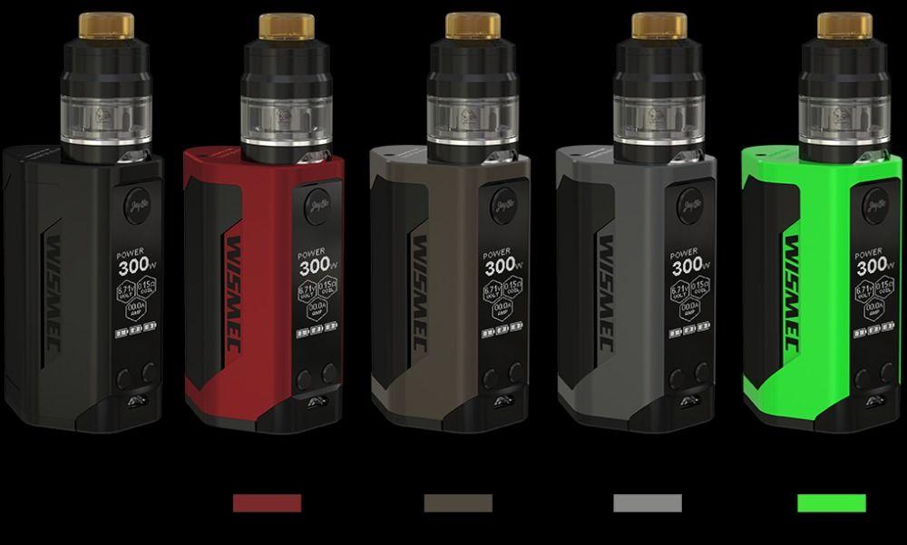Original WISMEC Reuleaux RX GEN3 300 W Kit con Gnomo Gnomo Del Tanque 2 ml tanque y RX GEN3 TC RXGEN3 Mod Mod actualización rx2/3 predator 228