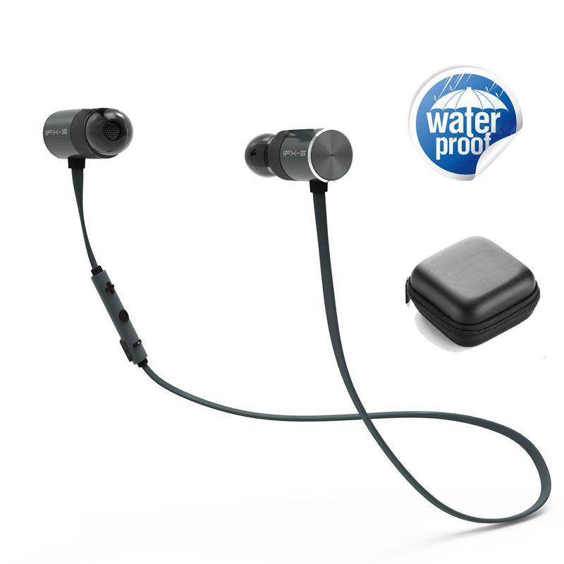 ZAPET IPX5 Waterproof Magnetic BX343 Wireless Earphone stereo Neckband Headset Bass earphones with Mic Earbuds Music