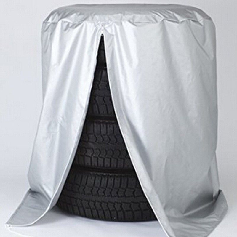 CHIZIYO Car Spare Tyre Cover Garage Tire Case Auto Vehicle Dust-Proof Tire Accessories Protector Tire Storage Bag For 13
