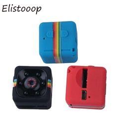 Elistooop Mini Camera SQ11 HD 1080P Camcorder HD Night Vision Mini Action Camera Sports Mini DV Voice Video Recorder