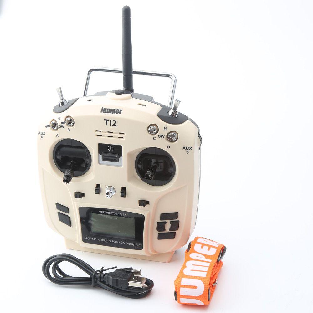 2018 Jumper T12 openTX 12ch radio with jp4 in 1 multi protocol rf module