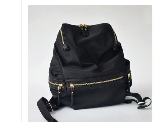 Nach maß 2018 neue doppel schulter tasche, Koreanische version, einfache reisetasche, große kapazität nylon tuch rucksack