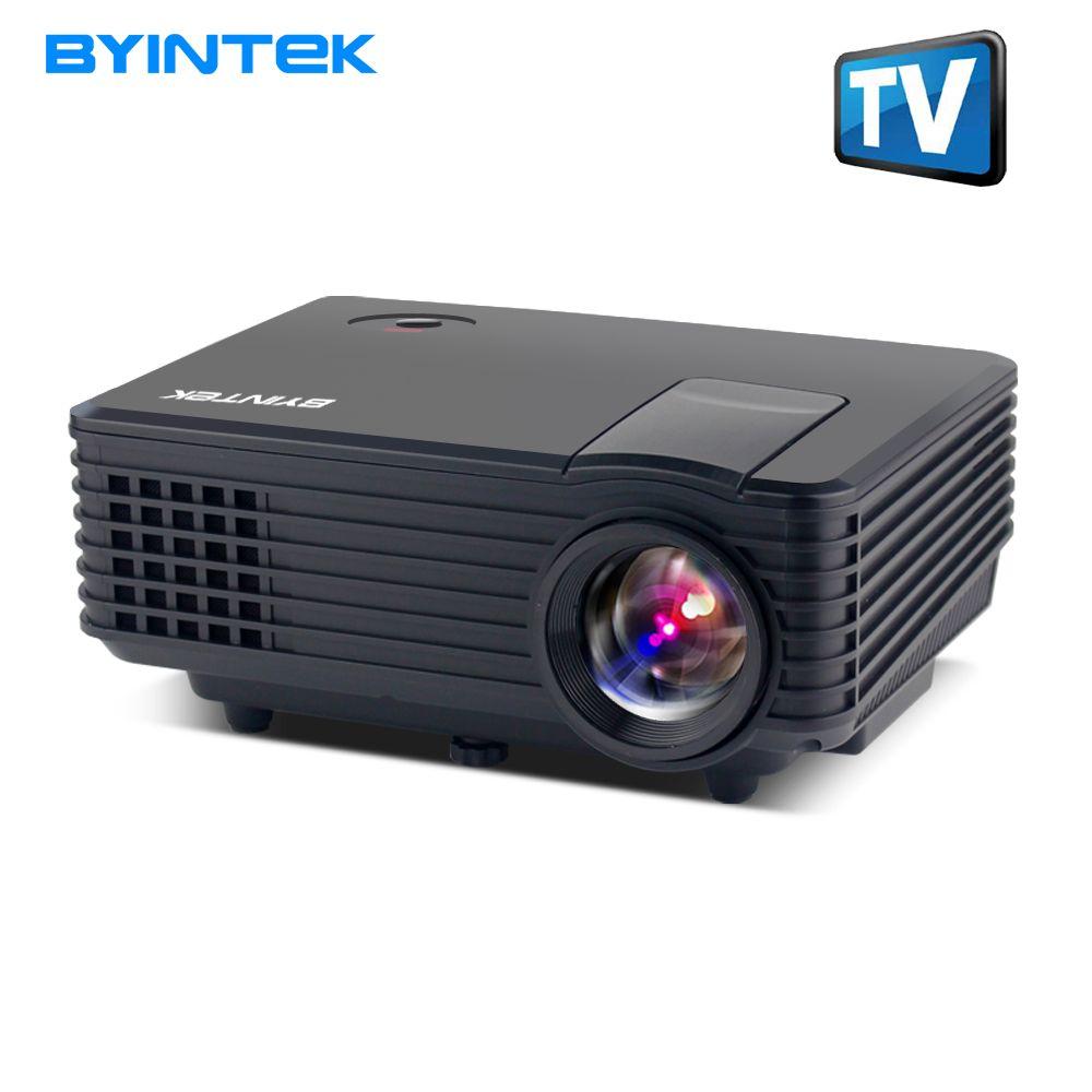 BYINTEK SKY BT905 Heimkino Mini LED Portable Video HD LCD Projektor Beamer Proyector mit HDMI USB TV Tuner Unterstützung 1080 P