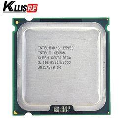 Intel Xeon E5450 Quad Core 3.0 GHz 12 MB SLANQ SLBBM Processeur Fonctionne sur LGA 775 carte mère pas besoin adaptateur