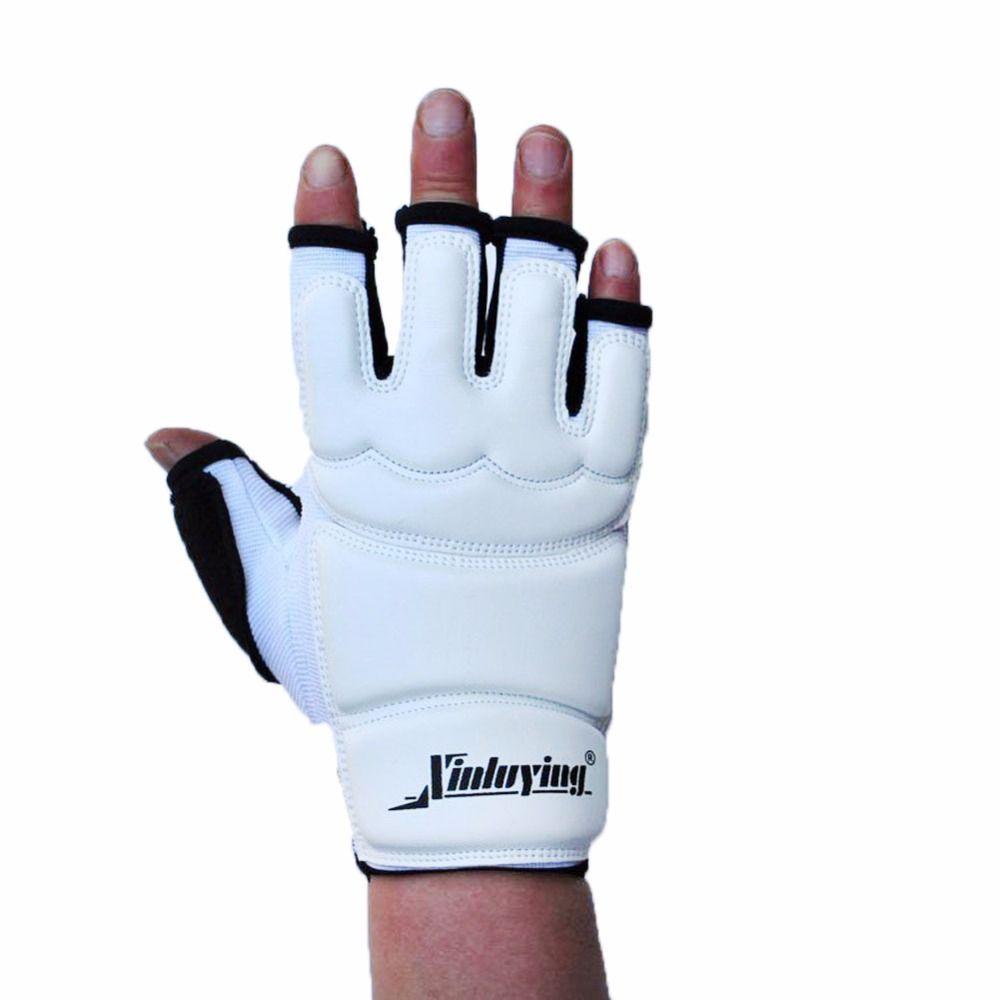 1 paire de gants de grappin en cuir combat boxe sac de frappe Sparring pour MMA Gym Fitness main orthèse soutien protéger l'équipement
