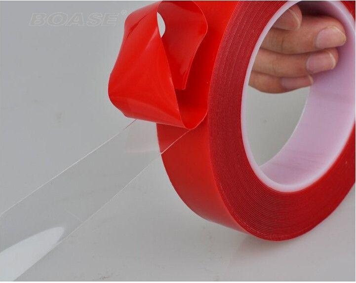 Сильный 20/30 мм x 3 м Двусторонняя прозрачной акриловой пены ленты монтажный Скотч для мобильного телефона экран объектив LCD Экран